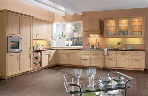 cuisine chene clair cuisine modèle 6230 xl plaqué chêne clair idée de