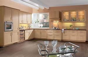davausnet decoration cuisine chene clair avec des With deco cuisine avec buffet chene clair