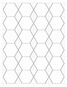 items similar to 1 inch hexagon paper piecing template With hexagon template for paper piecing