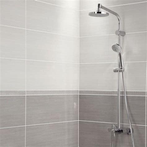fa 239 ence mur blanc l 24 x l 69 cm leroy merlin