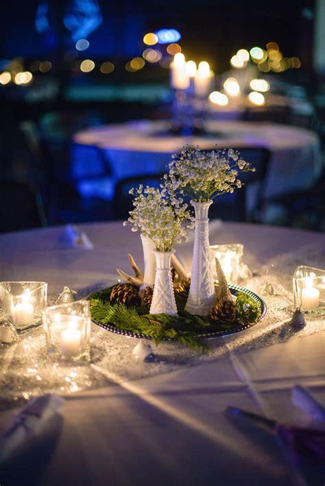 #reception #centerpiece #winterwedding #southdakota