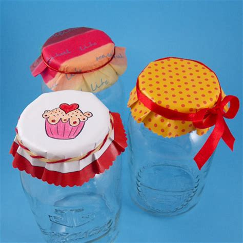 jar lid covers gift wrap aunt annies crafts