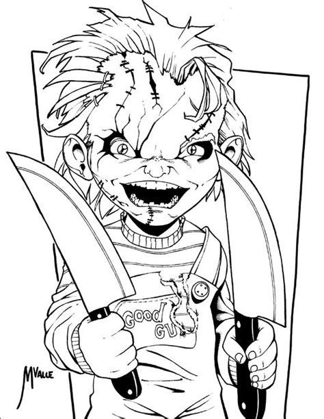 Chucky Inked by MJValle on DeviantArt