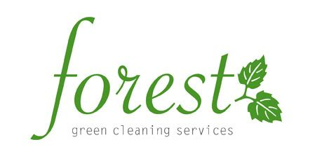 Forest Green Cleaning Services Logo Releasethechicken