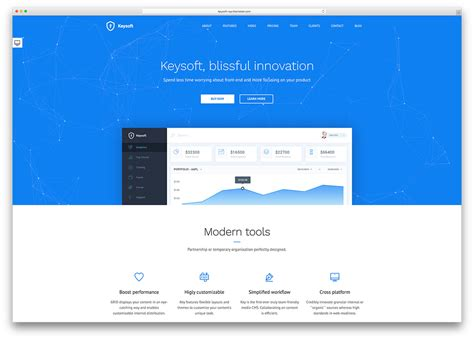 web design landing page 40 best landing page themes for apps products