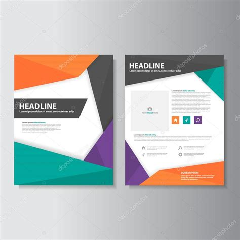 Colorful Infographic Presentation Template Brochure Flyer Colorful Brochure Flyer Leaflet Presentation Templates