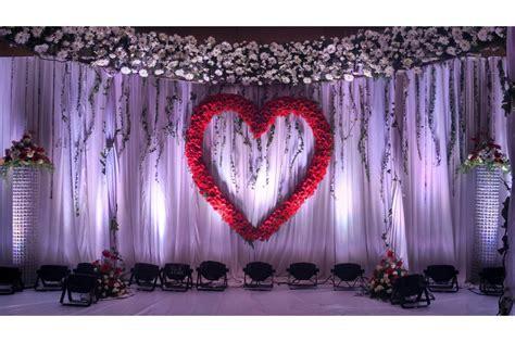 trending wedding reception backdrops chennai