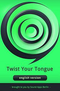 Twist your tongue english tongue twisters iphone app review for Twist your tongue english tongue twisters is tons of twisted fun