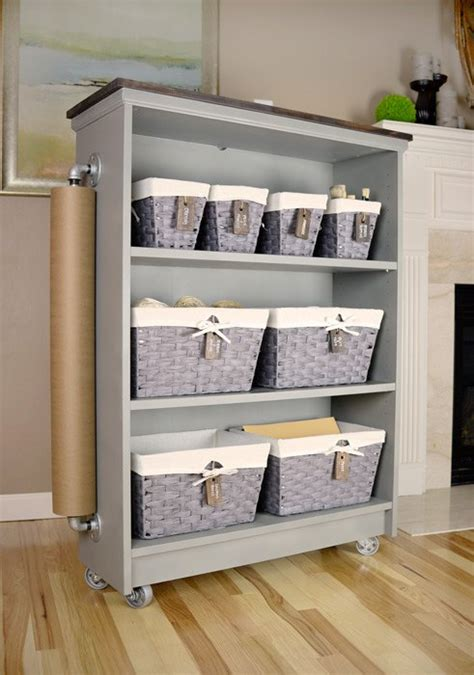 Painted Billy Bookcase by From Ikea Billy Bookcase To Craft Cart Hometalk