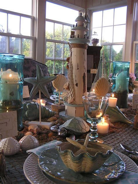 tablescape  beach themed luncheon yahoo search
