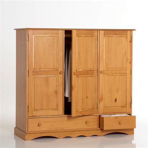 leclerc canape armoire la redoute armoire pin massif h140 cm penderie