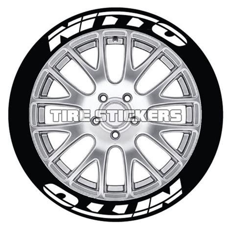 nitto tire lettering tire stickers