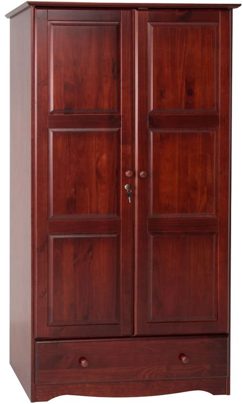 Solid Wood Wardrobe Closet by 100 Solid Wood Universal Wardrobe Armoire Closet By Palace
