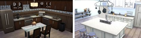 Cool Sims 3 Kitchen Ideas the sims 4 cool kitchen tips for a lovely layout simsvip
