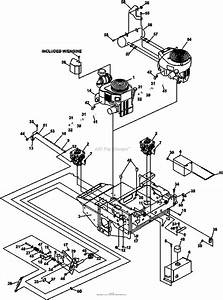 Bunton  Bobcat  Ryan 942521j Procat Se Kohler Cv740 W  61 Side Discharge Parts Diagram For Upper