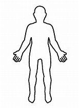 hd wallpapers coloring page of blank person