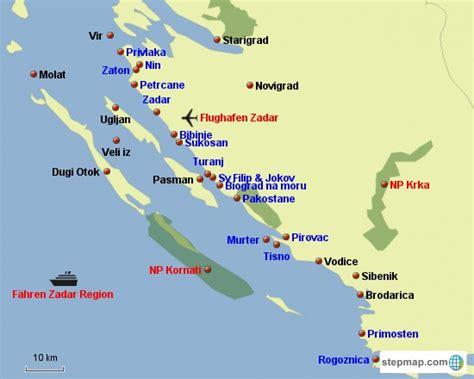 kroatien urlaubsorte sandstrand urlaub in umag karte