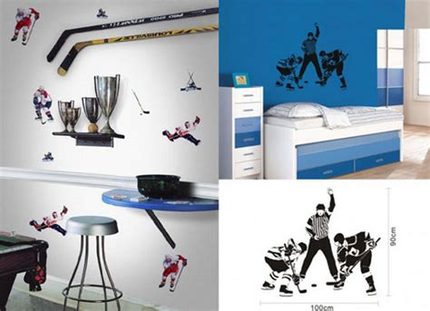Hockey-themed Bedrooms Can Be Alluring; Design One For