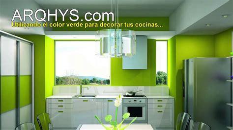 decorando tu cocina de color verde youtube