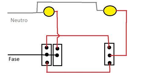 como conecto dos apagadores uno de escalera y otro sencillo yoreparo