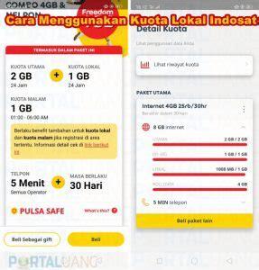 Selain itu semua jaringan 2g atau 3g atau 4g dapat mengakses kuota tersebut dimana dan kapanpun. Apa itu dan Cara Menggunakan Kuota Lokal Indosat Ooredoo ...