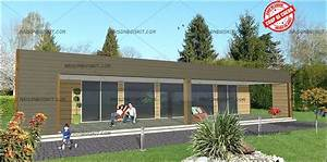 Maison En Bois En Kit Tarif : tarif maison bois moderne 4 chambres au m2 ~ Premium-room.com Idées de Décoration