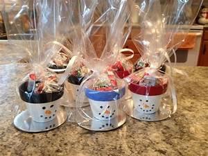 Weihnachtsgeschenke Für Eltern Basteln : tont pfe wie schneem nner bemalen und mit bonbons bef llen hnliche tolle projekte und ideen wie ~ Orissabook.com Haus und Dekorationen