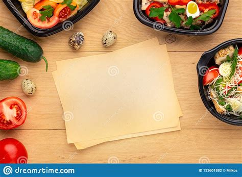 Subscribe to get our premium mockup absolutely free. Healthy Lunch Recipe, Top View, Mockup Stock Photo - Image ...