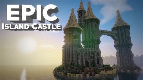 Minecraft Castle On an Island