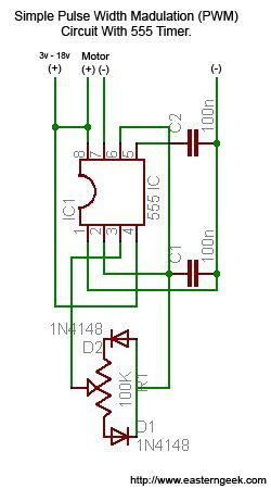 Simple Dirty Pulse Width Modulation Pwm With