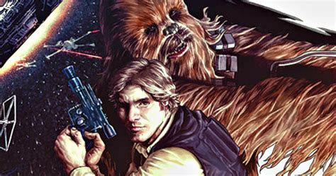 First Look at Marvel's Han Solo Comic Book Miniseries
