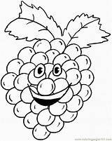 Coloring Grapes Pages Grape Printable Humanoid Fruit Crafts Cluster Colouring Happy Cartoons Fruits Coloringpages101 Cartoon Bible Select Animals Nature Category sketch template