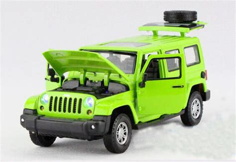 kids red jeep kids yellow green red 1 32 diecast jeep wrangler