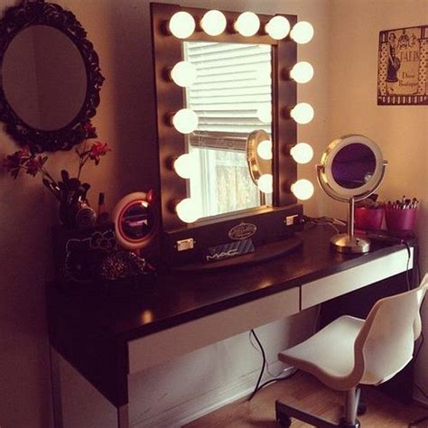Vanity Desk Mirror With Lights by Vanity Desk With Mirror And Lights Home Furniture Design