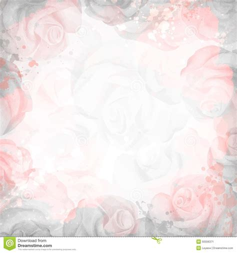 abstract romantic rose background  pink  gray colors