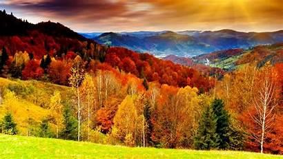 Wallpapers Autumn Mountain Desktop Mountains Forest Valley