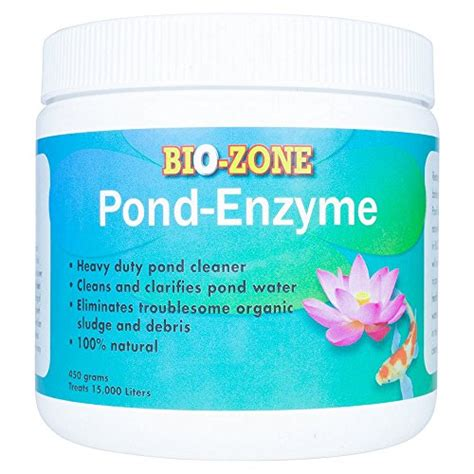 bio zone pond enzyme treatment ecofriendly water cleaner