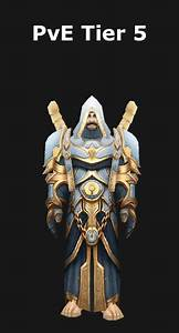 Transmogrification Priest PvE Tier 5 Set WoD 612 Icy