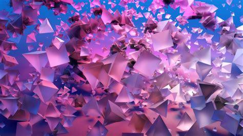 wallpaper pyramids  violet blue  os