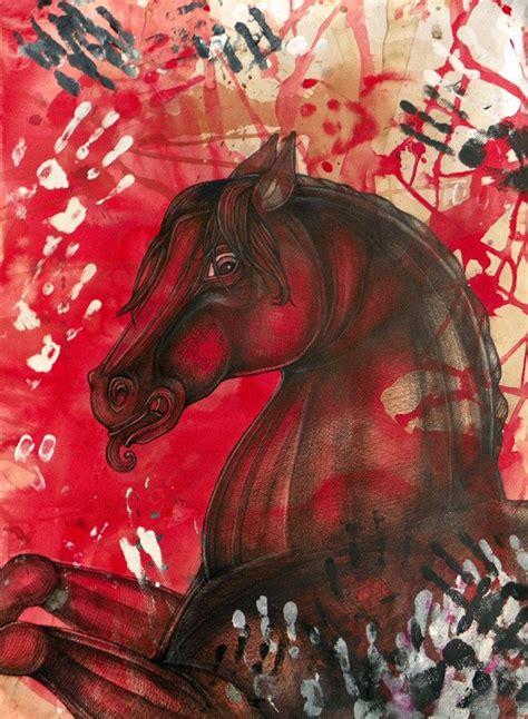 horse native european american war