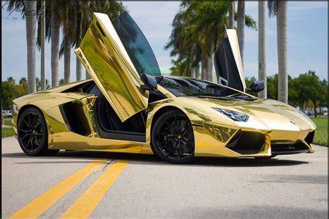cars lamborghini gold gold lamborghini miami most expensive one lamborghini