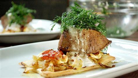 cuisiner foie de veau tarte bacon fenouil et chèvre pavé de foie de veau