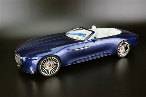review schuco mercedes maybach vision  cabriolet