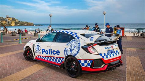 Hot Hatch Fuzz! Australian Police Get New Hardcore Honda
