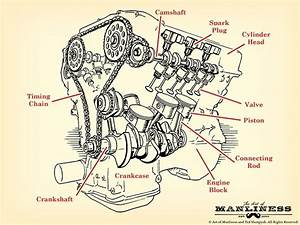 Automotive Engine Diagram