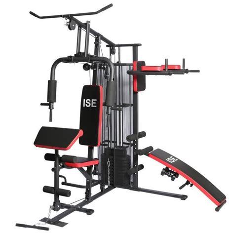 Ise Station De Musculation Mixte Sy4009  Acier Prix