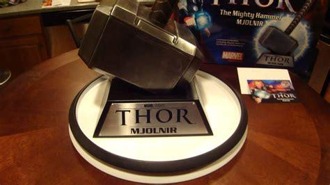 thor hammer mjolnir movie replica by museum replicas