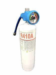 R410a Refrigerant 28oz Disposable One Step Can With Gauge
