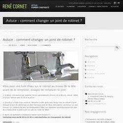 Changer Joint Robinet : comment changer un joint de robinet pearltrees ~ Premium-room.com Idées de Décoration