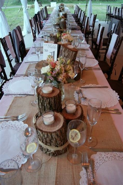 wedding table decorations rustic rustic table decoration ideas rustic wedding ideas 1184
